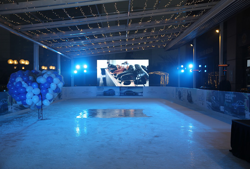 Kempinski's Ice World